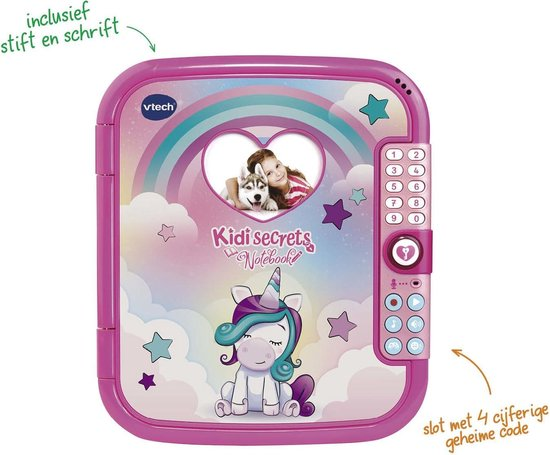 VTech KidiSecrets Notebook - Leercomputer