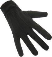Handschoenen Kort - Katoen - Maat M - Zwart