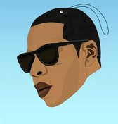 COOL&FAMOUS AIRFRESHENER JAY-Z STRAWBERRY