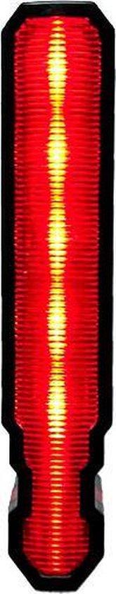 RIDR Laser Lights - fietsverlichting - achterlicht met laser - LED USB - waterdicht