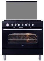 ETNA FG890ZT - Gasfornuis met oven - 90 cm