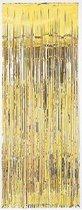 Gouden deur gordijn