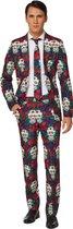 Suitmeister™ Mr. Skull kostuum voor mannen - Volwassenen kostuums