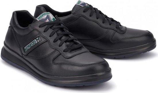 Mephisto LEANDRO Heren Sneaker - Zwart - Maat 44