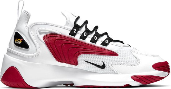 Nike Zoom 2K Heren Sneakers - White/Black-Gym Red-White - Maat 42.5