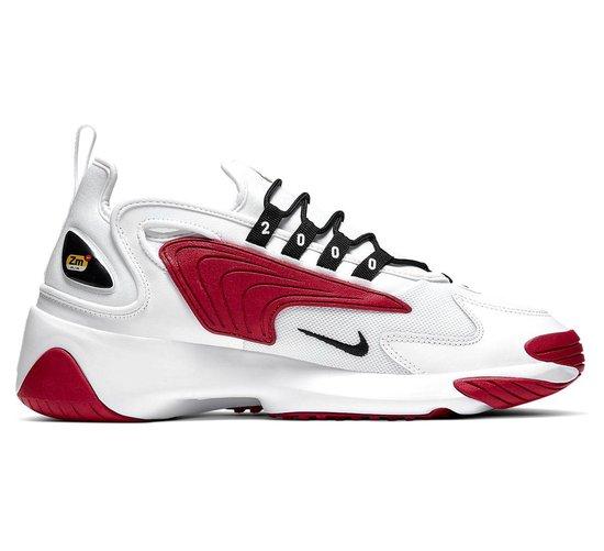 Nike Zoom 2K Heren Sneakers - White/Black-Gym Red-White - Maat 45