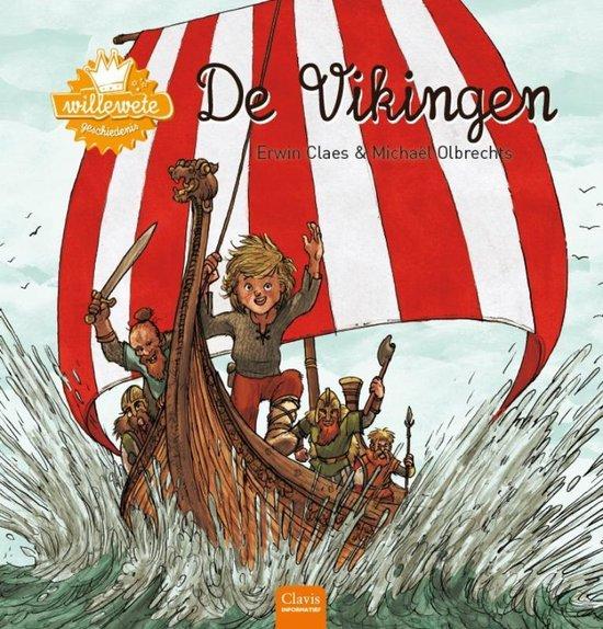 Boek cover Willewete  -   Vikingen van Erwin Claes (Hardcover)