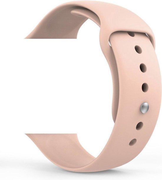 Luxe Horlogeband Voor Apple Watch - Iwatch 42Mm - Vervangingsbandje - Siliconen - Elemental GOods