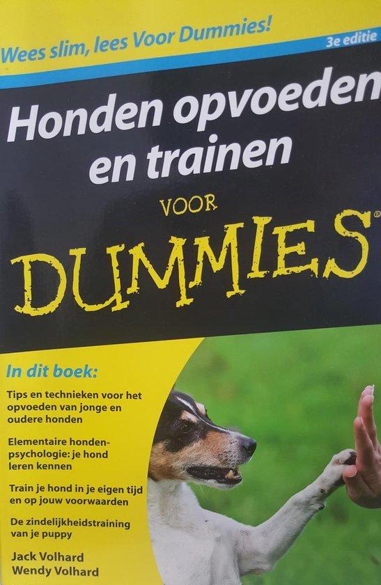Voor Dummies - Honden opvoeden en trainen voor Dummies - Jack Volhard |