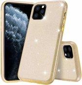 Ntech Apple iPhone 11 Pro Glitter TPU Back Hoesje - Goud