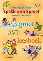 Spekkie en Sproet  -   Spekkie en Sproet groot AVI leesboek