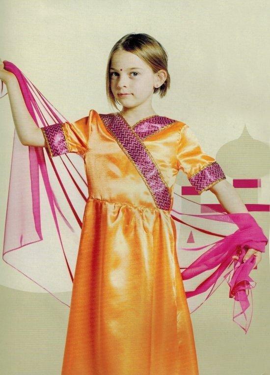 Dreamland - Buikdanseres - maat 128 - verkleedkleding