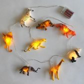 House of Disaster String Lights With Safari Animals Safari
