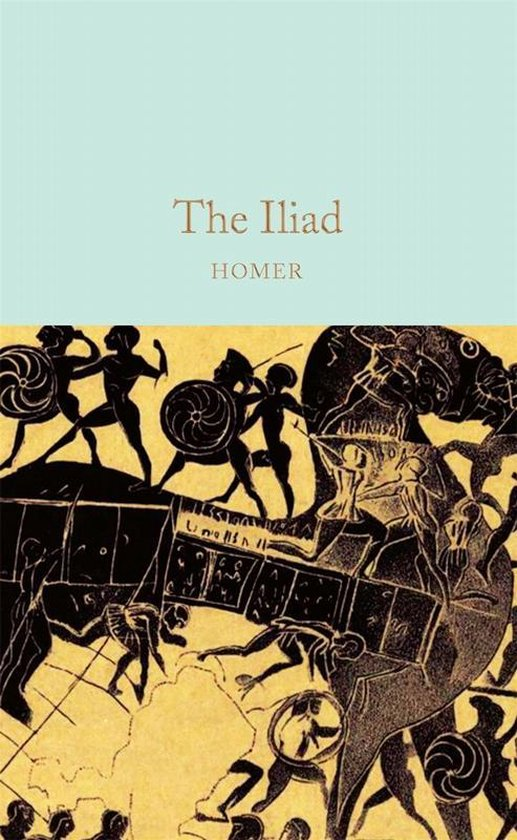 Boek cover The Iliad van Homer (Hardcover)