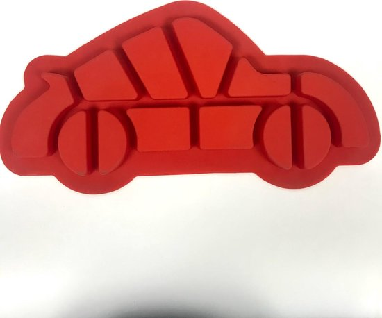 Bakvorm Auto Siliconen - 57 x 20 x 4cm