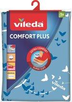 Vileda Viva Express Comfort Plus Strijkplankovertrek - 130x45cm - Turkoois
