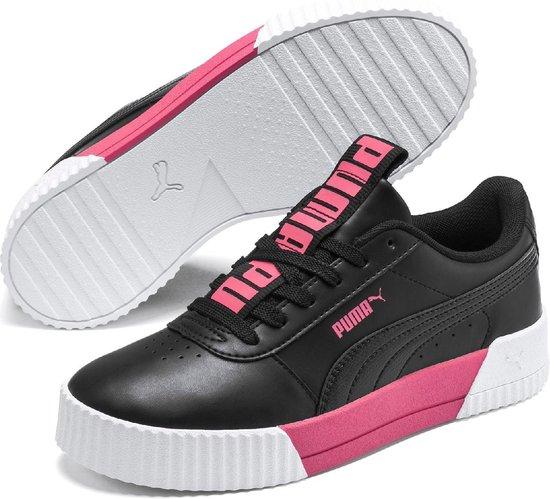 PUMA Carina Bold Dames Sneakers - Puma Black-Puma Black - Maat 40