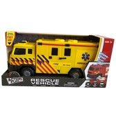 Ambulance Friction Truck + licht/geluid