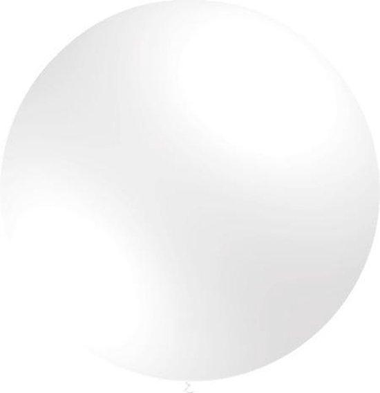 Witte Reuze Ballon XL 91cm