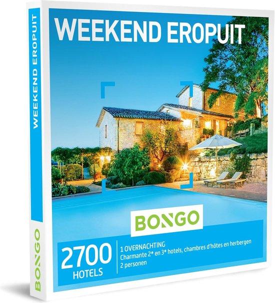 Bongo Bon België - Weekend Eropuit Cadeaubon - Cadeaukaart cadeau voor man of vrouw | 2700 leuke hotels