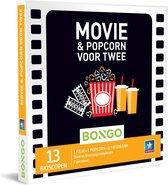 Bongo  Bon België - Movie & Popcorn voor Twee Cadeaubon - Cadeaukaart : 13  bioscopen