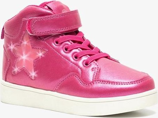 Blue Box meisjes sneakers met lichtjes Roze Maat 31