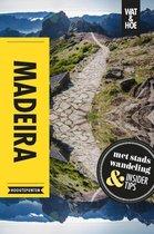 Boek cover Wat & Hoe Reisgids - Madeira van Wat & Hoe Hoogtepunten