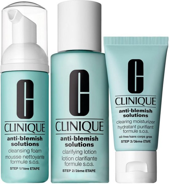 Clinique Anti-Blemish Solutions Clear Skin System - Starter Kit