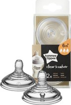 Tommee Tippee Closer to Nature Flesspeen x2 - Snelle Stroom
