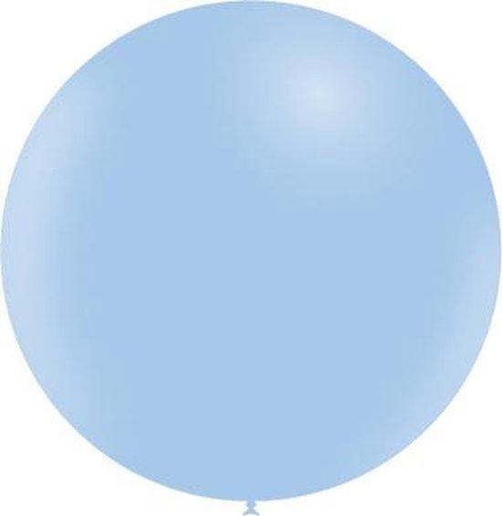 Lichtblauwe Reuze Ballon Pastel 60cm