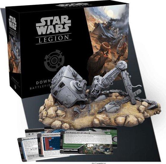 Afbeelding van het spel Star Wars Legion Downed AT-ST Battlefield - EN