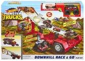Hot Wheels Monster Truck - Mobile Downhill Play Set