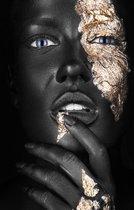Plexiglas –Woman– 80 x 120 cm Foto op Plexiglas (Wanddecoratie)
