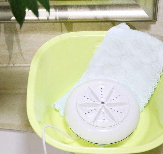 Wasmachine usb mini voor op reis vakantie