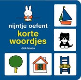 Boek cover Nijntje oefent  -   nijntje oefent korte woordjes van Dick Bruna (Hardcover)