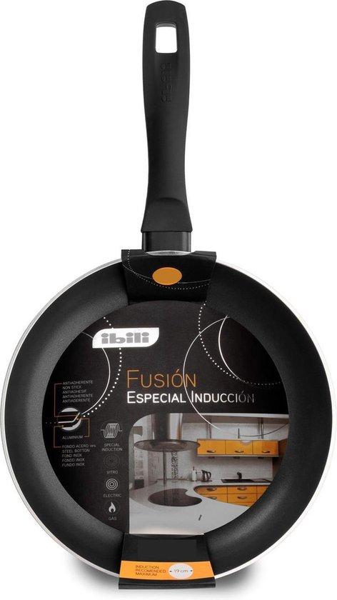 Ibili Koekenpan 'Fusión' - 20 cm - zwart