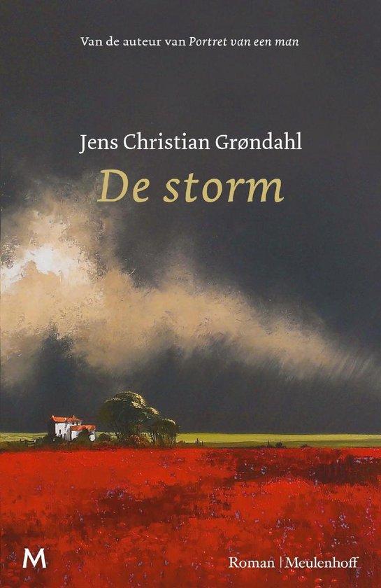 Boek cover De storm van Jens Christian Grøndahl (Onbekend)