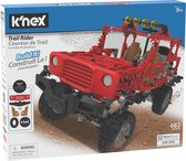 K'NEX Gemotorizeerde Rode Jeep - Bouwset