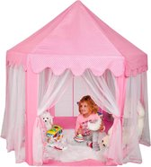 XL Kinder Speeltent - Speelkasteel - Prinses speeltent - Roze -