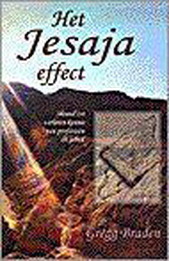 Boek cover Het Jesaja-Effect van Gregg Braden (Onbekend)