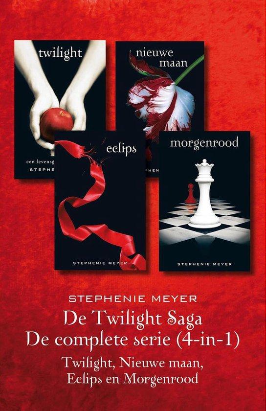 Twilight 4-in-1 - De twilight Saga: De complete serie - Stephenie Meyer | Fthsonline.com