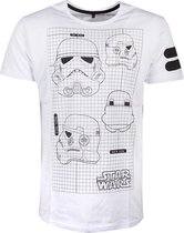 Star Wars - Star Wars Imperial Army Men s T-shirt - 2XL