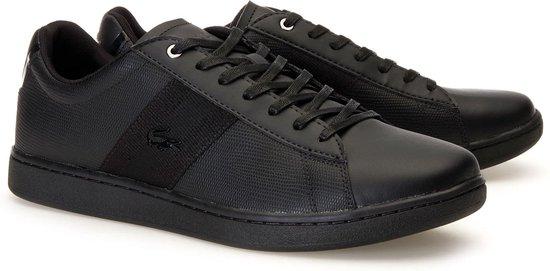 Lacoste Carnaby EVO Heren Sneakers - Zwart - Maat 45