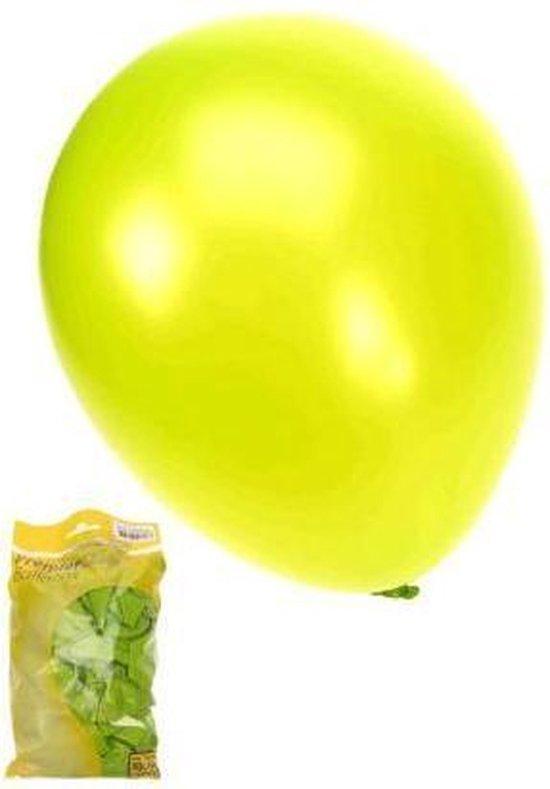 Kwaliteitsballon metallic groen