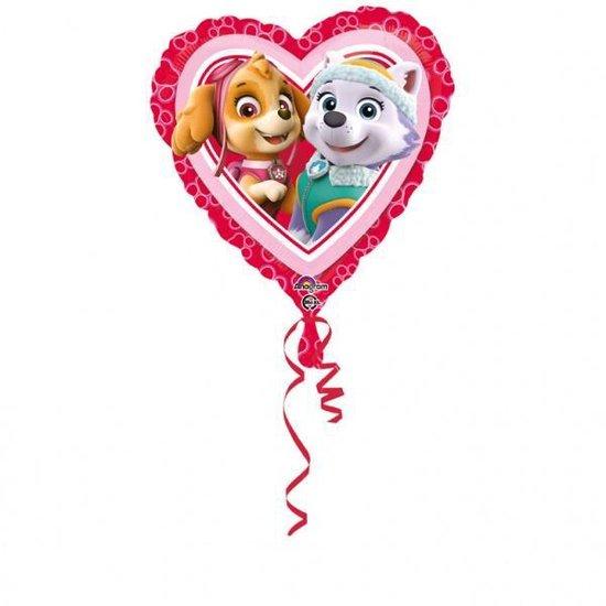 Standard Folie Ballon Paw Patrol Love 43 cm