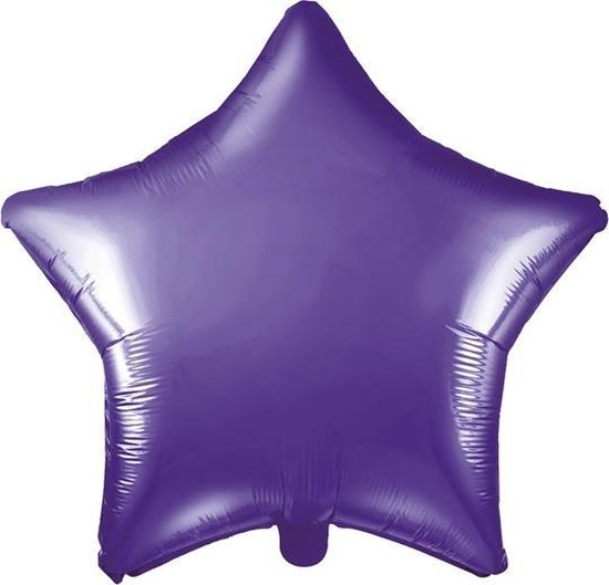 Folieballon ster Violet