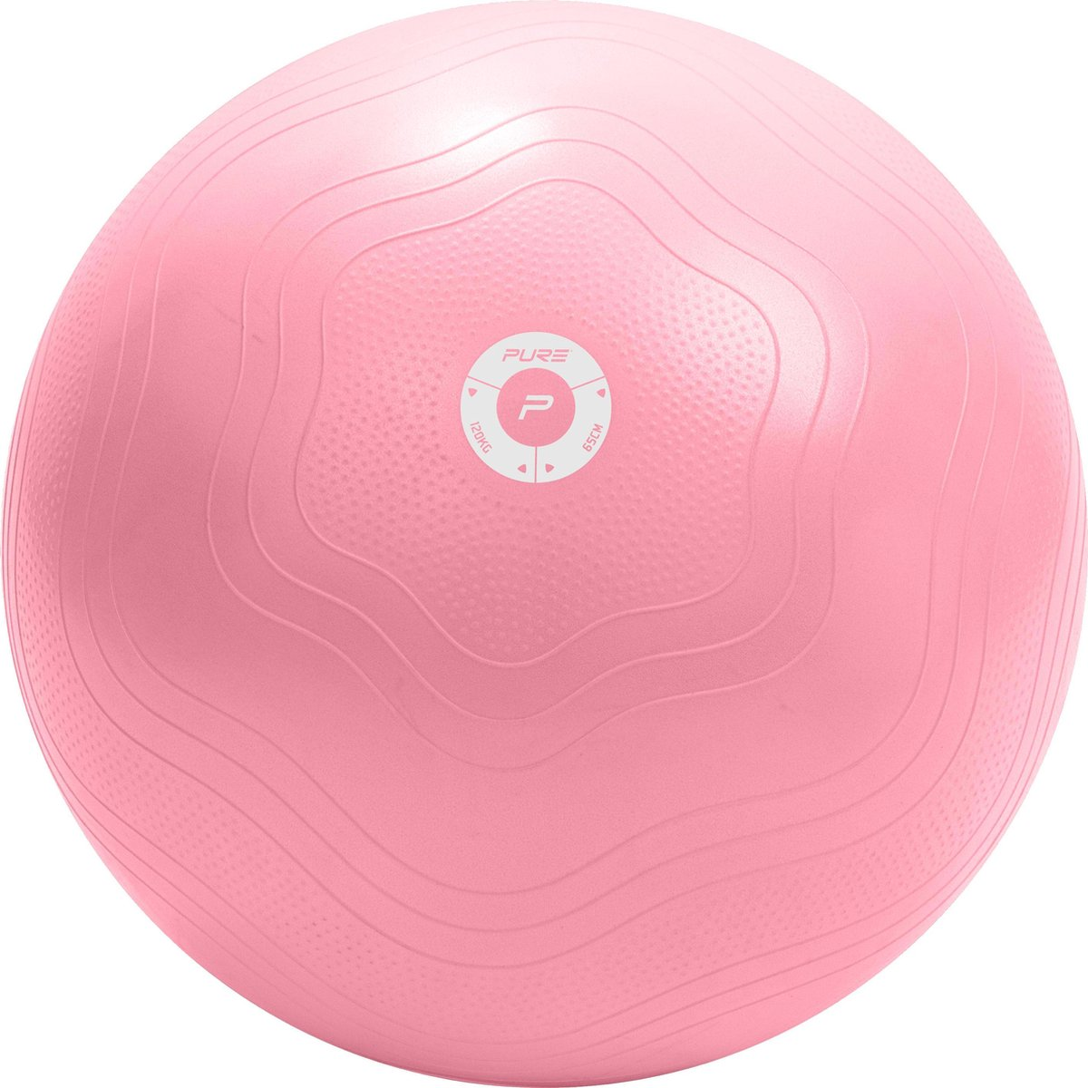 Pure2Improve - Yogabal - antiburst - 65 cm - roze