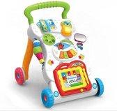 Loopwagen - Baby walker - Baby speelgoed - Loopsteun kind - Leren lopen - Met muziek