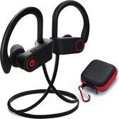 SBVR SV2 - Draadloze bluetooth In-Ear Sport Oortjes - IPX6 Waterproof - Bluetooth 5.0 - Zwart