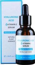 Hyaluronzuur Serum - Hyaluronic Acid Serum - Gezichtscreme - Anti Aging - Anti Rimpel - Wallen – Acne – Droge Huid Olie – Gevoelige Huid – Huidverzorging Tijdens Of Na Microneedling
